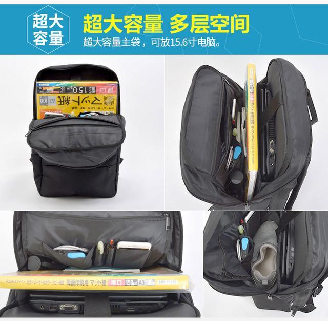 Thanko新品:带隐藏式设计凳子,能迅速展开和收纳的背包