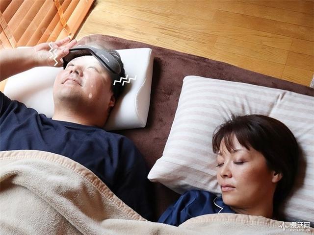"""日本THANKO推出""""闹钟""""眼罩:闪光+震动来唤醒你"""